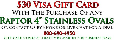Raptor $30 Gift Card