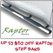 p To $50 Off Raptor Bars