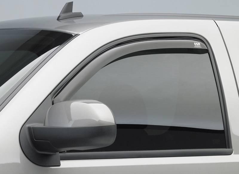 Rain Guards For Cars >> Svcustoms - EGR 572551 - Smoke In Channel Window Vent Visors Dodge Ram Mega Cab 06-09 (4-Piece Set)