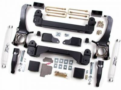 """Misc. Zone Offroad 16-Up Tundra 5"""" Suspension Lift W/ Fox Rear Shocks and Carrier Drop"""