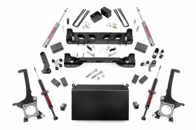 Misc. Rough Country 6IN TOYOTA SUSPENSION LIFT KIT | LIFTED N3.0 STRUTS (07-15 TUNDRA)