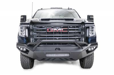 Fab Fours - Fab Fours GM20-V5052-B Vengeance Front Bumper