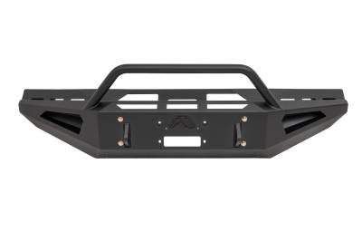 Fab Fours - Fab Fours DR94-RS1562-1 Red Steel Front Bumper