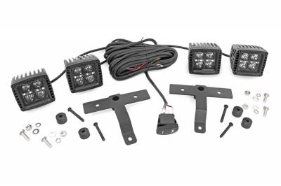 Rough Country - Rough Country 70824 LED Light Pod Kit