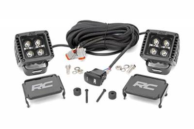 Rough Country - Rough Country 70060 Black Series LED Fog Light Kit