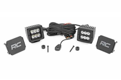 Rough Country - Rough Country 70062 Black Series LED Fog Light Kit