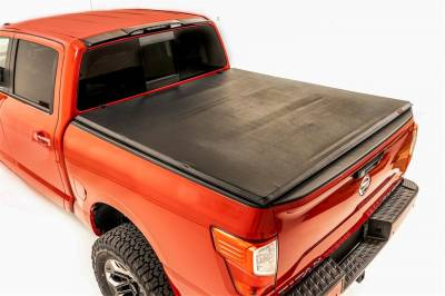 Rough Country - Rough Country RC44816550 Soft Tri-Fold Tonneau Bed Cover