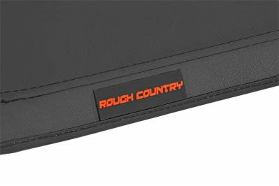 Rough Country - Rough Country RC46219600 Soft Tri-Fold Tonneau Bed Cover