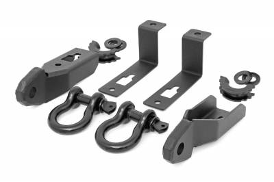 Rough Country - Rough Country RS152 Tow Hook To Shackle Conversion Kit