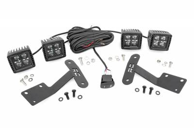 Rough Country - Rough Country 70838 LED Lower Windshield Ditch Kit