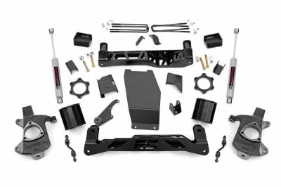 Rough Country - Rough Country 22431 Suspension Lift Kit w/Shocks