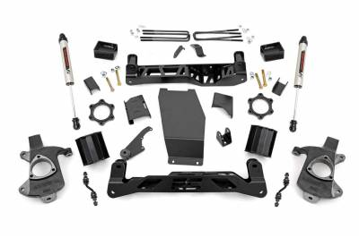 Rough Country - Rough Country 22370 Suspension Lift Kit w/Shocks