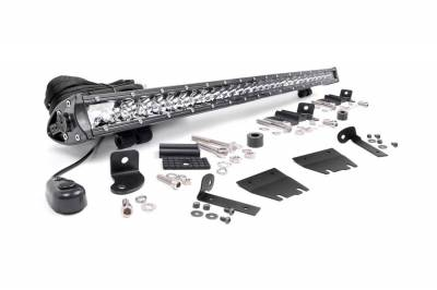 Rough Country - Rough Country 70053 LED Light Bar Hood Kit