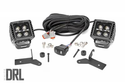 Rough Country - Rough Country 70052DRL LED Lower Windshield Kit