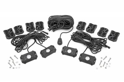 Rough Country - Rough Country 70980 LED Rock Light Kit
