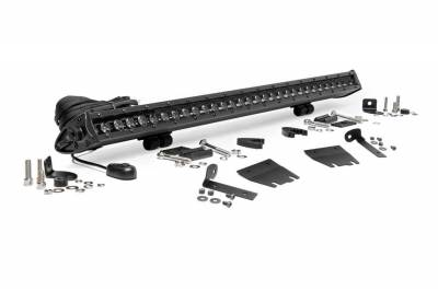 Rough Country - Rough Country 70054 LED Light Bar Hood Kit