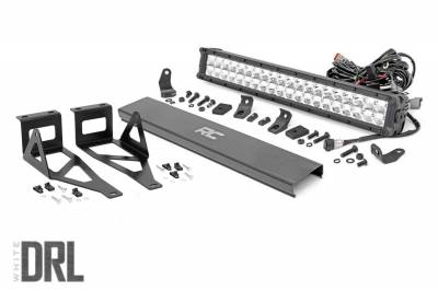 Rough Country - Rough Country 70664DRL Chrome Series LED Kit
