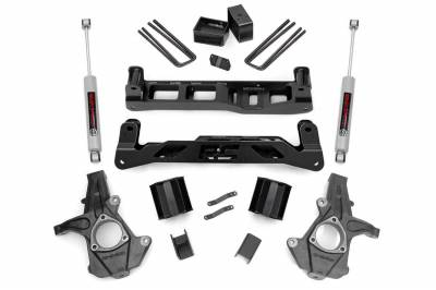 Rough Country - Rough Country 24730 Suspension Lift Kit w/Shocks