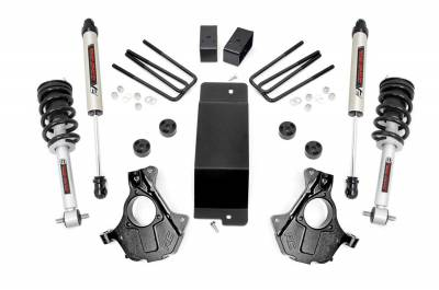 Rough Country - Rough Country 12471 Suspension Lift Knuckle Kit w/Shocks