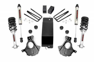 Rough Country - Rough Country 11971 Suspension Lift Knuckle Kit w/Shocks