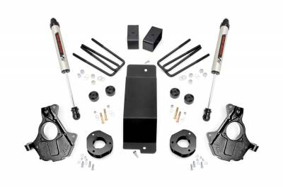 Rough Country - Rough Country 12470 Suspension Lift Knuckle Kit w/Shocks