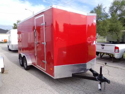 Haul-About Trailers - 2022 Haul-About 7x16 Cougar Cargo Trailer 7K