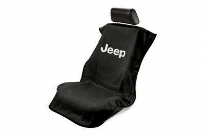 Seat Armour - Seat Armour Jeep Black Without Grille Towel Seat Cover