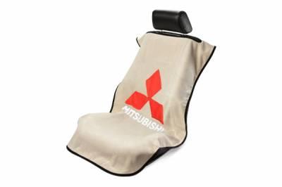 Seat Armour - Seat Armour Mitsubishi Tan  Towel Seat Cover