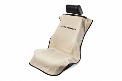Seat Armour - Seat Armour Camaro Tan Towel Seat Cover
