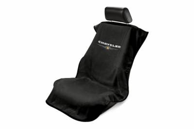 Seat Armour - Seat Armour Chrysler Black Towel Seat Cover