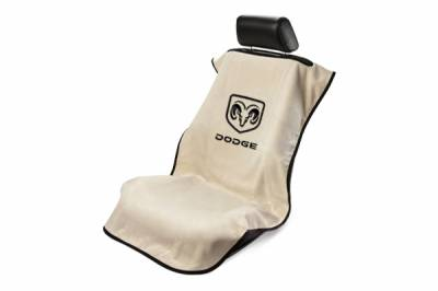Seat Armour - Seat Armour Dodge Tan Towel Seat Cover