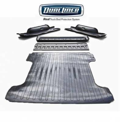 DualLiner - DualLiner Truck Bed Liner Dodge Ram 02-07 1500 8' Bed (Bolt In Tiedowns)