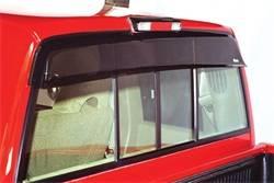 Rear Window Deflector - Rear Window Deflector - Westin - Westin 72-36114 Wade Cab Guard