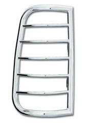 Exterior Lighting - Tail Light Guard - Westin - Westin 39-3410 Sportsman Tail Light Guard Chrome