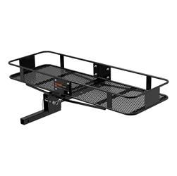Trailer Hitch Accessories - Trailer Hitch Cargo Carrier - CURT Manufacturing - CURT Manufacturing 18131 Basket Style Cargo Carrier