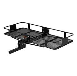 Trailer Hitch Accessories - Trailer Hitch Cargo Carrier - CURT Manufacturing - CURT Manufacturing 18132 Basket Style Cargo Carrier