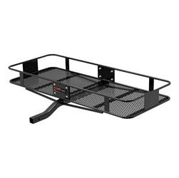 Trailer Hitch Accessories - Trailer Hitch Cargo Carrier - CURT Manufacturing - CURT Manufacturing 18133 Basket Style Cargo Carrier