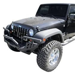 Bumper - Bumper- Front - Aries Offroad - Aries Offroad RA15600 Replacement Bumper Front