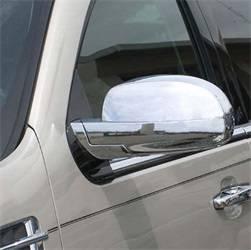 Door Trim - Door Mirror Cover - Aries Offroad - Aries Offroad M4002C Chrome Mirror Cover