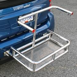 Trailer Hitch Accessories - Trailer Hitch Cargo Carrier Top Support - Aries Offroad - Aries Offroad TPS2504-2 Rear Basket Top Support