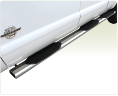 """Raptor - Raptor Magnum 6"""" Wheel To Wheel Polished Stainless Oval Tubes Dodge Ram 09-15 1500 Quad Cab 6'4"""" Bed (Rocker Panel Mount) - Image 5"""