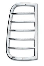 Exterior Lighting - Tail Light Guard - Westin - Westin 39-3030 Sportsman Tail Light Guard Chrome