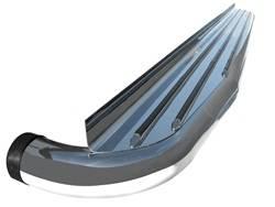 Running Board - Running Board (Wheel to Wheel) - ICI (Innovative Creations) - ICI (Innovative Creations) STAN544DG Wheel-To-Wheel Nerf Board
