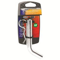 Trailer Hitch Accessories - Trailer Hitch Pin - Tow Ready - Tow Ready 63242-100 Grooved Style Hitch Pin and Clip