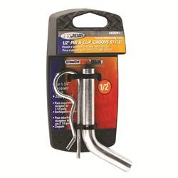 Trailer Hitch Accessories - Trailer Hitch Pin - Tow Ready - Tow Ready 63241 Grooved Style Hitch Pin and Clip