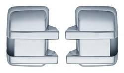Door Mirror - Door Mirror Cover - Brite Chrome - Brite Chrome 11224 Door Mirror Cover