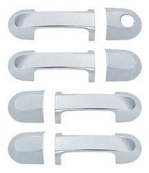 Door Trim - Door Handle Cover - Brite Chrome - Brite Chrome 11606K Door Handle Cover