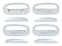 Door Trim - Door Handle Cover - Brite Chrome - Brite Chrome 11306K Door Handle Cover