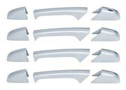 Door Trim - Door Handle Cover - Brite Chrome - Brite Chrome 12206K Door Handle Cover