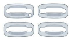 Door Trim - Door Handle Cover - Brite Chrome - Brite Chrome 13106K Door Handle Cover